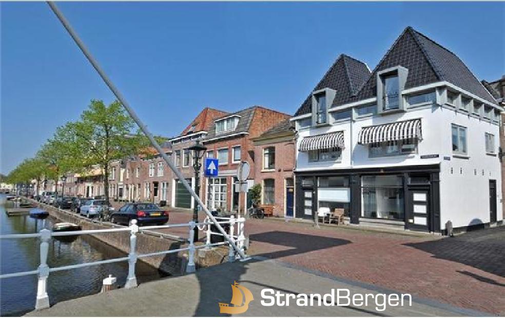Appartement Aan de Gracht in Alkmaar nahe der Nordsee in historischer Lage