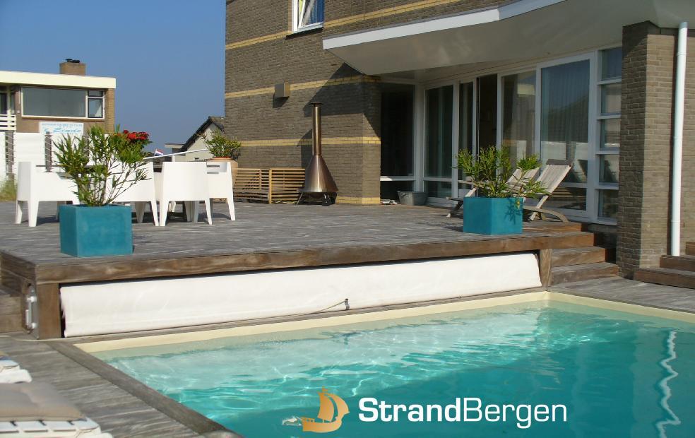 Miami Beach House zomerse villa aan zee met zwembad en sauna