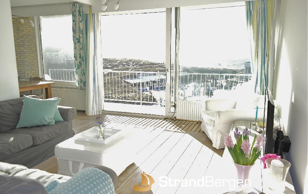 Apartment SeaView Bergen aan Zee, tolle Aussicht!