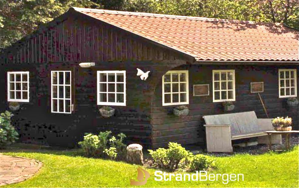 Garden Cottage in Bergen; schön in einem herrlichen Garten gelegen